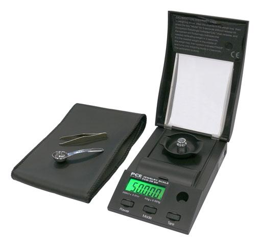 Bilancia tascabile di precisione PCE-JS 50