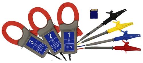 Accessori a corredo dell'analizzatore di potenza PCE-PA 8000