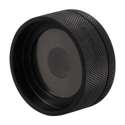 Il box per le polveri permette di calibrare su bianco e su nero le polveri