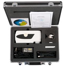 Contenuto della spedizione del misuratore di colore portatile PCE-CSM 7