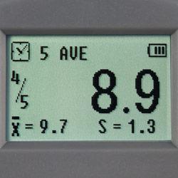 Display del misuratore di durezza PCE-DDA 10
