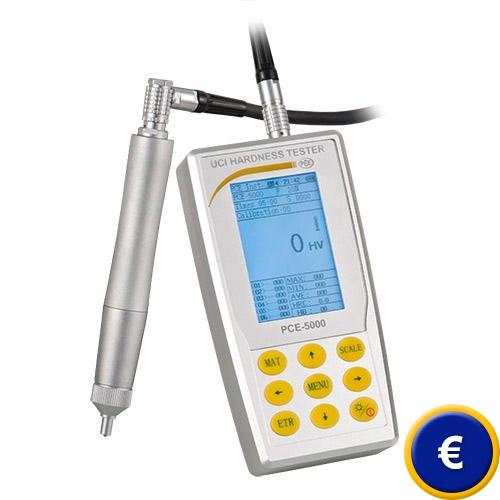 Potete trovare maggiori informazioni sul durometro a ultrasuoni PCE-5000