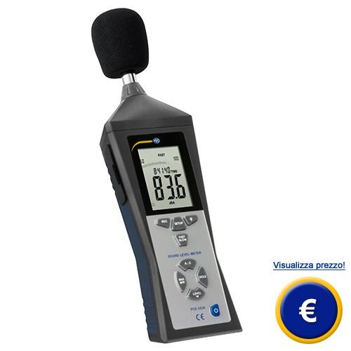 Fonometro PCE-322A sullo shop online