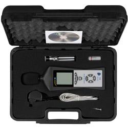 Contenuto della spedizione del decibelmetro con datalogger PCE-322A