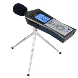 Analizzatore di rumore PCE-322A con stativo