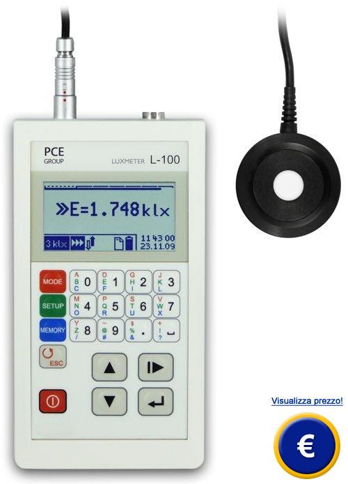 Luxmetro PCE-L 100 sullo shop online