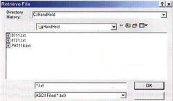 Archiviazione dei file