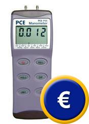 Manometro differenziale PCE-P15 / 30 / 50 sullo shop online