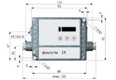 Schema della scheda elettronica del pirometro PCE-IR10