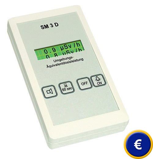 Misuratore di radioattività SM-3-D sullo shop online