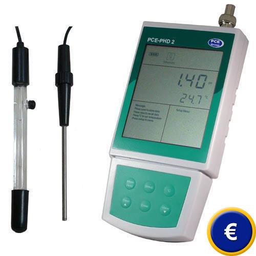 Misuratore di pH PCE-PHD 2
