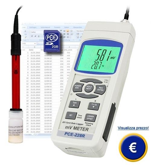 Redoximetro PCE-228-R sullo shop online
