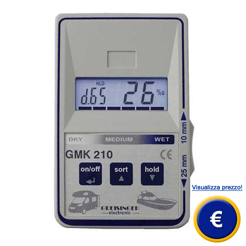 Misuratore di umidità per caravan GMK 210