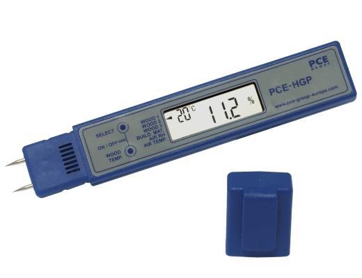 Misuratore di umidità per materiali PCE-HGP