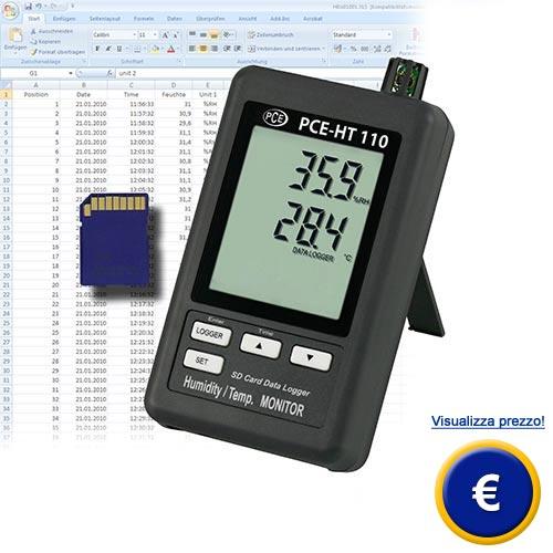 Misuratore di temperatura e umidita