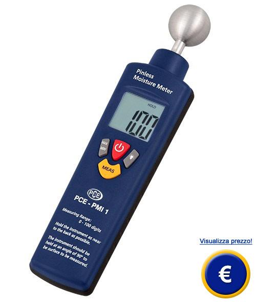 Misuratore di umidità di materiali PCE-PMI 1