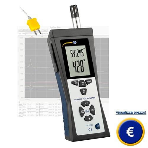 Psicrometro PCE-320 sullo shop online
