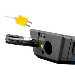 Sensori frontale dello psicrometro