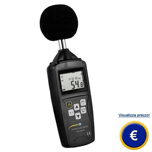 Fonometro LEQ PCE-353N sullo shop online