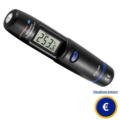 Mini termometro a infrarossi PCE-600 sullo shop online