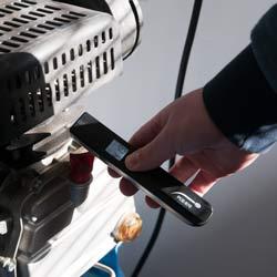 Uso del termometro a infrarossi