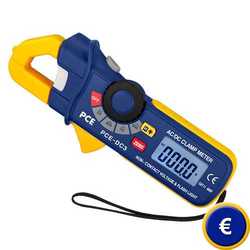Amperometro PCE-DC3 sullo shop online