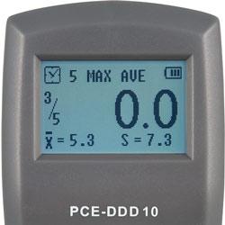 Display del misuratore di durezza PCE-DDD 10