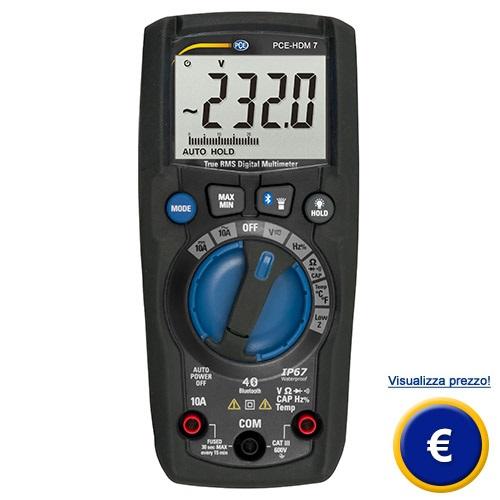 Ohmetro PCE-HDM 7 sullo shop online