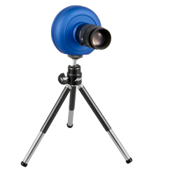 Videocamera ad alta velocità sul treppiede
