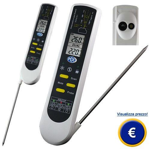 Termometro per alimenti PCE-IR 100 (HACCP) sullo shop online
