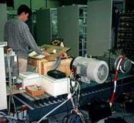 Misura dell'isolamento all'avvio di un motore