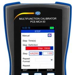 Schermo LCD del calibratore