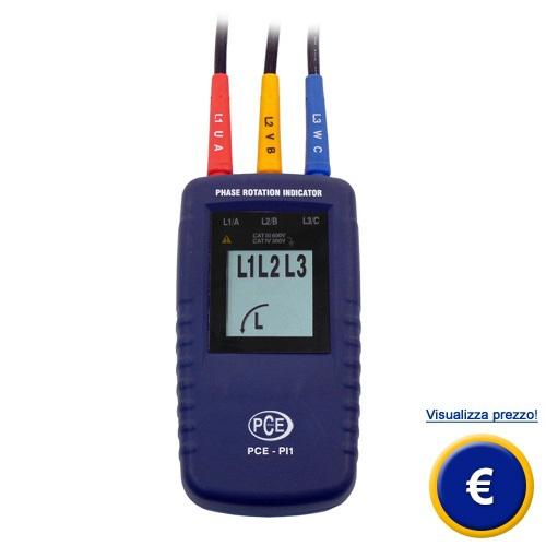 Indicatore di rotazione delle fasi PCE-PI1 sullo shop online