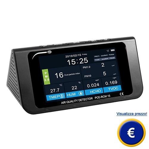 Misuratore di qualità dell'aria PCE-RCM 15 sullo shop online