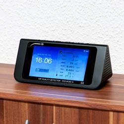 Utilizzo del misuratore di qualità dell'aria