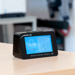 Posizionamento del misuratore di qualità dell'aria