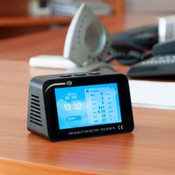 Uso del misuratore di qualità dell'aria