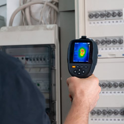 Uso della camera termografica