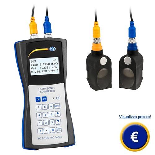 Flussometro a ultrasuoni della serie PCE-TDS 100 sullo shop online