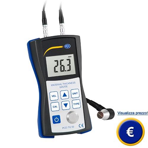 Spessimetro per materiali PCE-TG 50 sullo shop online