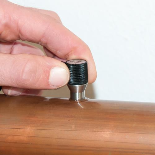 Sensore dello spessimetro per materiali