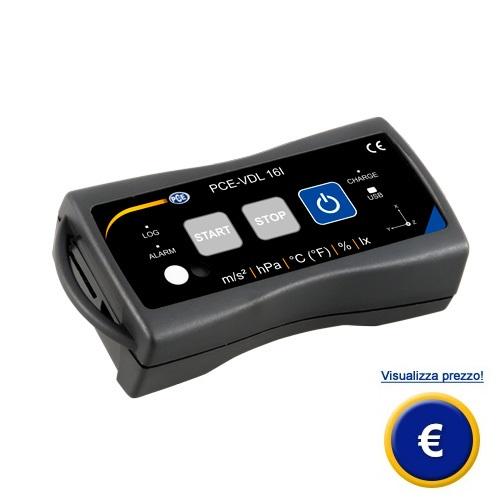 Mini datalogger PCE-VDL 16I sullo shop online