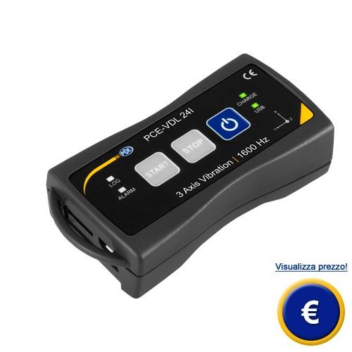 Sensore di accelerazione triassiale PCE-VDL 24I sullo shop online