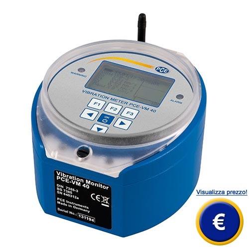Accelerometro per edifici PCE-VM 40C sullo shop online