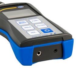 Connessioni dell'analizzatore di vibrazioni PCE-VT 2700