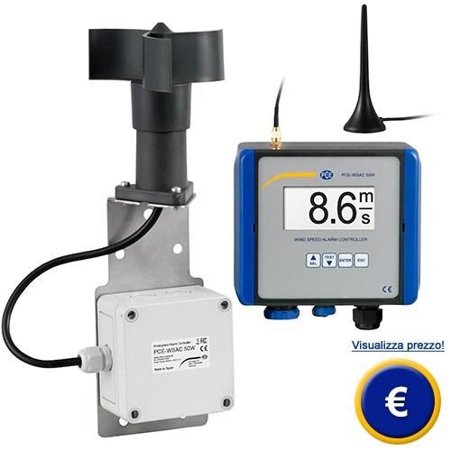 Anemometro wireless PCE-WSAC 50W sullo shop online