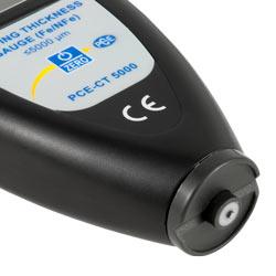 Sensore dello spessimetro PCE-CT 5000