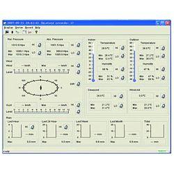 Qui può vedere una sezione del software di analisi che si include nella spedizione.