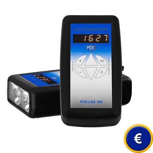 Stroboscopio LED portatile PCE-LES 100 sullo shop online