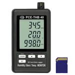 Contenuto della spedizione del barometro registratore PCE-THB 40